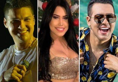Elder Dayán, Diego Daza y Ana del Castillo, suman 78 conciertos en el mes de febrero y son los artistas más pegados del vallenato
