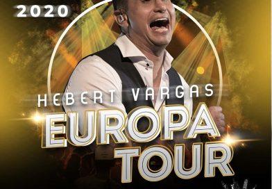 Hebert Vargas, confirma su gira musical por Europa, durante los meses de mayo y junio