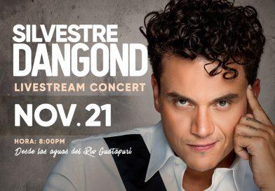 Silvestre anunció concierto virtual en el río Guatapurí el 21 de noviembre