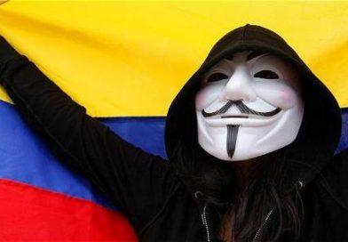 Anonymous tumba página web del Ejército colombiano