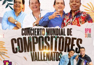 Concierto Mundial de Compositores : Roberto Calderón, Rafa Manjarrez, Robert Oñate, Daniel Celedón. Presencial y Virtual