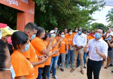 Con el proyecto 'Agua al Pueblo', Pivijay goza del preciado líquido 100% potable